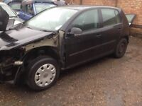 Breaking for parts choice of 3 MK5 VW Golfs black colour doors wings bumpers tailgate