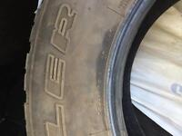 4 All seasons tires used on Jeep Wrangler, fairly new!!