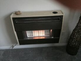 Gas fire with 4 spare new radiants