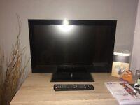 "22"" Flatscreen TV with inbuilt DVD for sale"