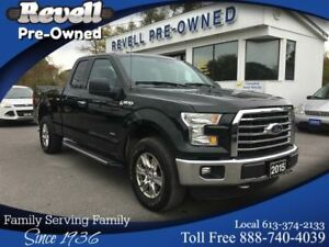 2015 Ford F-150 XTR 4WD  *1-owner  2.7 Ecoboost