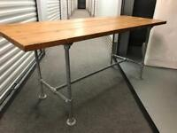 Industrial looking table with FREE DELIVERY