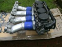 c20xe R1 motor bike carbs and manifold for 2.0 16v engine ready to be fitted.
