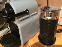 Nespresso Coffee Machine + Nespresso Milk Frother
