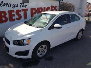 2016 Chevrolet Sonic LT Auto REMOTE START, HEATED SEATS, BACK...