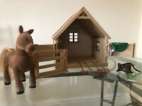 Sylvanian horse stable