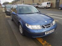 saab 95 linear 2.2 tid diesel automatic estate 2003 model, mot jan 2018