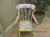 reduced priced peppa pig chair from Doffidatt Creations