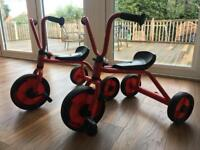 Gault Winther trikes