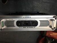 Dj equipment / disco Palladium1600 vintage high power stereo amplifier in flight case