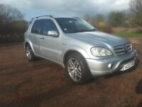 Mercedes Benz ML55 AMG Aug 2002