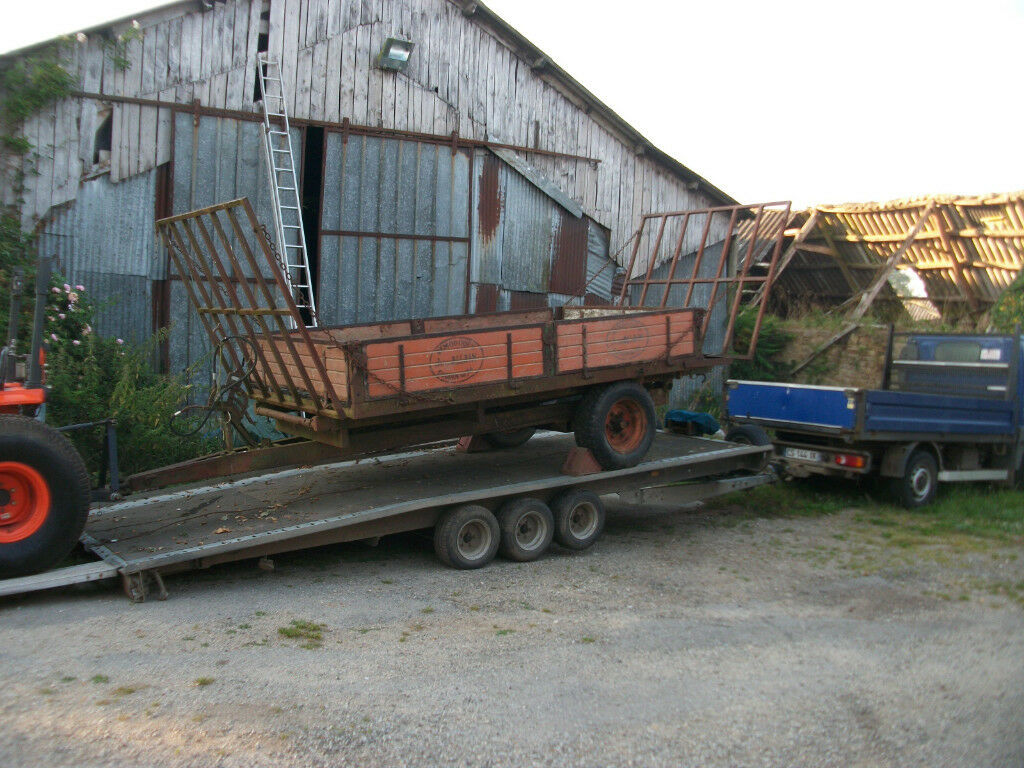 18 Foot Tri Axle Brian James Trailer - Car Transporter