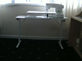 SEWING MACHINE, QUILTING MACHINE, CRAFTING & EMBROIDERY MACHINE TABLE by HORN