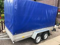 Trailer 10ft/5 ft with cover like new !