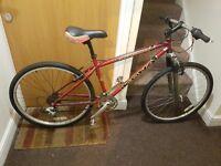 Kona mountain bike with 26 wheel inch