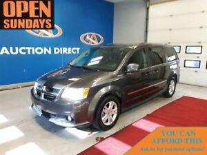 2016 Dodge Grand Caravan CREW! LEATHER! FINANCE NOW!