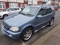 Mercedes ML 270cdi 7 seater with full Mercedes Benz service history