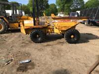 Thwaites 6000 3 ton dumper 4x4