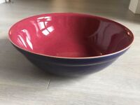 Denby Harlequin Large Serving Bowl - Good condition
