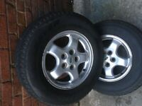 Land Rover discovery alloys