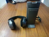 Sennheiser RS180 Headband Wireless Headphones - Titanium