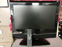 Bush TV and DVD Player with Remote