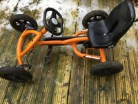 Berg Buddy Ride On Pedal Go Kart - In Excellent Condition