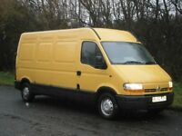 2002(52) RENAULT MASTER LWB 2.5 DCi 120bhp, ONE OWNER, GOOD CHEAP RELIABLE WORKHORSE, READY TO GO