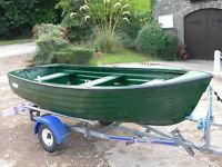 JURA FISHING DINGHY BUILT BY HIGHLANDER BOATS 12 FT - UK WIDE DELIVERY AVAILABLE
