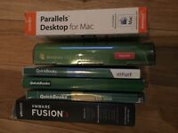 Various software for sale: Quickbooks, Parallels, Windows upgrade