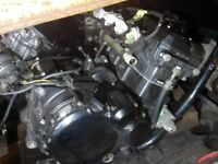 Kawasaki ZZR1200 Engine £450 Low mileage Tel 07870 516938
