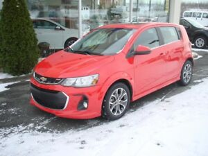 2017 CHEVROLET SONIC 5 LT rs