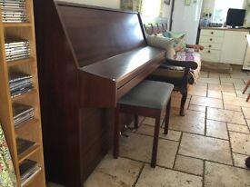 Kemble piano mahogany