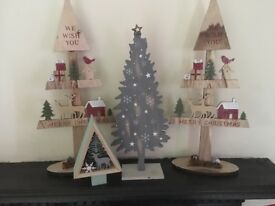 Standing Christmas Tree Decorations