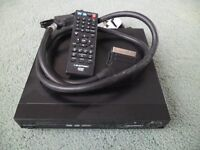 Blaupunct DVD player with scart lead and remote in perfect working order