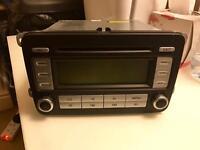 VW GOLF CD/RADIO RCD 300