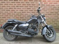 Keeway SUPERLIGHT 125cc cruser with MOT