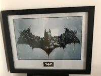 Framed Batman Picture