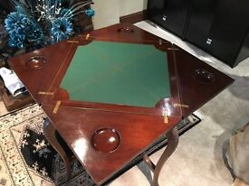 Card Table, Nice condition card table. Located in Blue Anchor, West Somerset. TA24