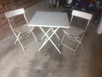 Retro Garden table and chairs