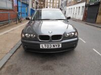 2003 318SE AUTOMATIC S/HISTORY LOW MILES A/C LEATHERS ALLOYS ELECTRIC PACK VGC