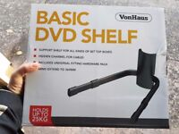 Vonhaus Basic DVD Shelf - Brand New & Boxed