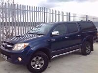 2008 TOYOTA HILUX D/C 3.0 D4-D INVINCIBLE 4X4 MANUAL BLUE