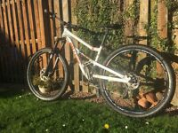 On-one codeine 2014 small/medium mountain bike