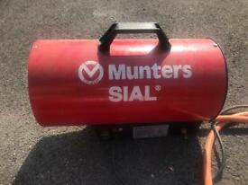 Munters SIAL Space Heaters x2 (PROPANE)