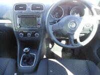 VW Golf TDi 5 Door Haychback, 1.6 Diesel, 2 Former Keepers