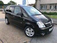 2010 Vauxhall Meriva 1.6 16v Design Easytronic Automatic 5 Dr Low Mileage Long MOT Electric Sunroof