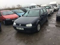 Vow golf 1400 cc 5 door hatchback in nice condition in and out good driver 1years mot any trial welc