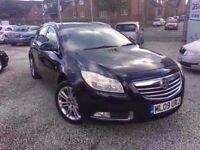 09 VAUXHALL INSIGNIA 2.0 DIESEL ESTATE IN BLACK *PX WELCOME* MOT TILL JUNE 2018 £2295