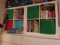 IKEA KALLAX white shelf